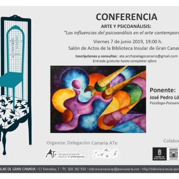 """Conferencia «Arte y Psicoanálisis: las influencias del psicoanálisis en el arte contemporáneo"""""""
